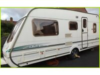 Swift Abbey 5 Berth Luxury Touring Caravan Ace Sterling Group. REDUCED