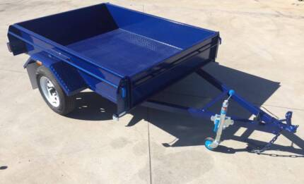 7x4 Rolled Body Trailer 350 sides H/D (Australian Made) Adelaide Region Preview