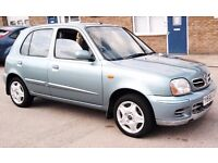 Cheap Nissan Micra Long Mot Low Mileage 5 Door Low Insurance px Corsa Astra Aygo Yaris corolla ford