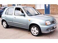 Cheap Nissan Micra Long Mot Low Mileage 5 Door Low Insurance px Corsa Astra Aygo Yaris corolla ford
