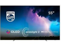 """PHILIPS Ambilight 55""""OLED 4K HDR New Boxed (Free Delivery&Wall Fitting)"""