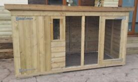 8FT X 4FT DOG KENNEL AND RUN