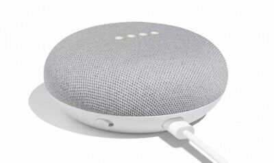 NEW Google Home Mini Smart Small Speaker Chalk / Grey Voice Activated