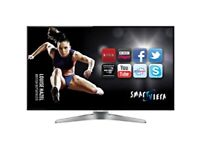 *FREE DELIVERY = BEAUTIFUL 55 PANASONIC VIERA SMART 3D TV LED = LIKE NEW STYLISH TELEVISION FREEVIEW
