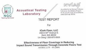 Cork Underlayment, Highest Density 200-220kg/cubic meter, 3mm, 6mm,12mm Portugal Best Acoustic Underlay  for laminate,