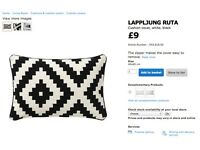 Used Ikea LAPPLJUNG RUTA Cushion Cover (FREE pillow included!)