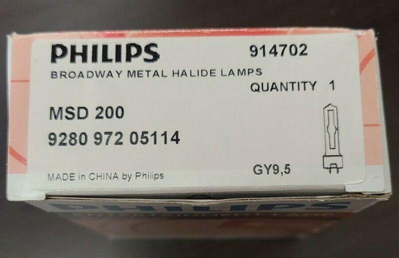 Philips Broadway Metal Halide Lamp MSD 200 914702 928097205114