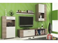 set of 4 living room cabinets