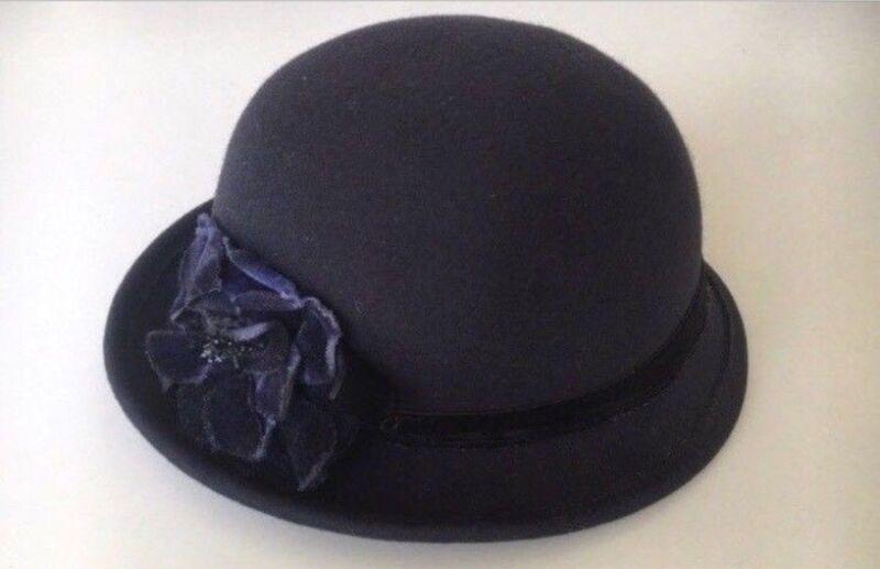 19e1fae757c Vintage 1920s 100% Wool   47  Felt Hat