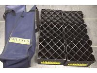 Milenco Triple 2 Caravan Ramps Levellers With bag
