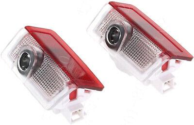 2X Laser LED Door For Benz A/B/C/E/M/GL/GLA Class Projector Shadow Light Logo HD
