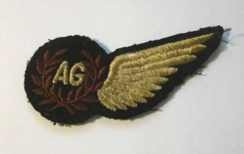 Original WW2 British Aerial Gunner Patch