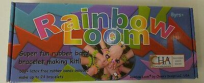 Rainbow Loom Super Fun Rubber Band Bracelet Making Kit Crafts Kids Hobby NEW