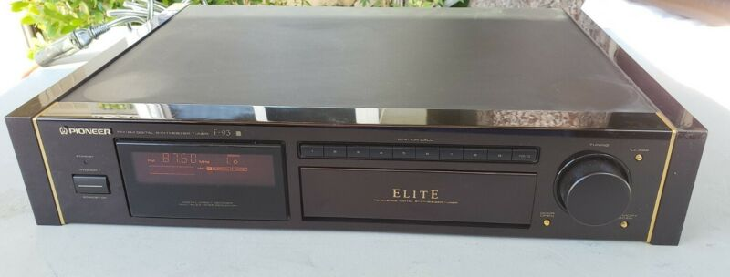 Pioneer Elite F-93 Stereo FM AM Tuner Exct
