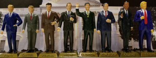 THE EIGHT FORMER U.S. PRESIDENT FIGURINES MARX NEVER MADE
