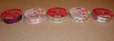 Kirkland Signature Wire-edged Ribbon 50 Yards 1.5 Wide Holiday Party Gift