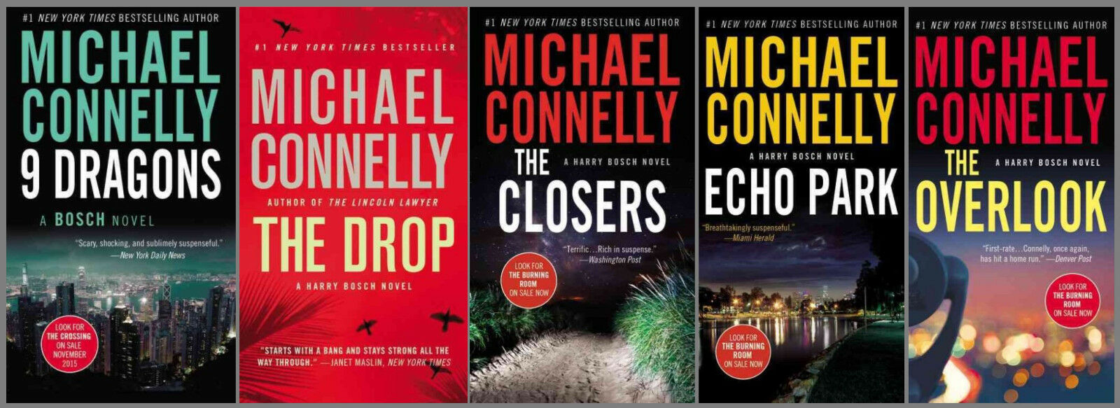 """Image for """"HARRY BOSCH Series by Michael Connelly - Set of Paperbacks 11-15! by Connelly, Michael"""""""