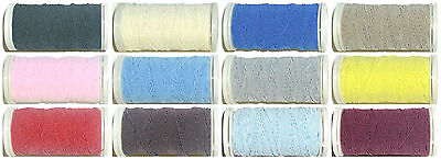 SHIRRING ELASTIC, 20 METRE REEL, WIDE RANGE OF COLOURS, REF 07-3007, FREE P&P (Nähen Rang)