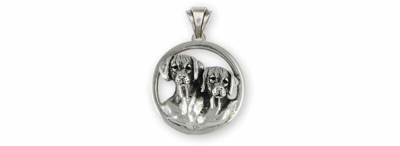 Rhodesian Ridgeback Jewelry Sterling Silver Handmade Rhodesian Ridgeback Pendant