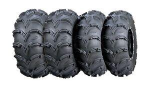 Four 4 ITP Mud Lite XXL ATV Tires Set 2 Front 30x10-12 & 2 Rear 30x12-12 MudLite