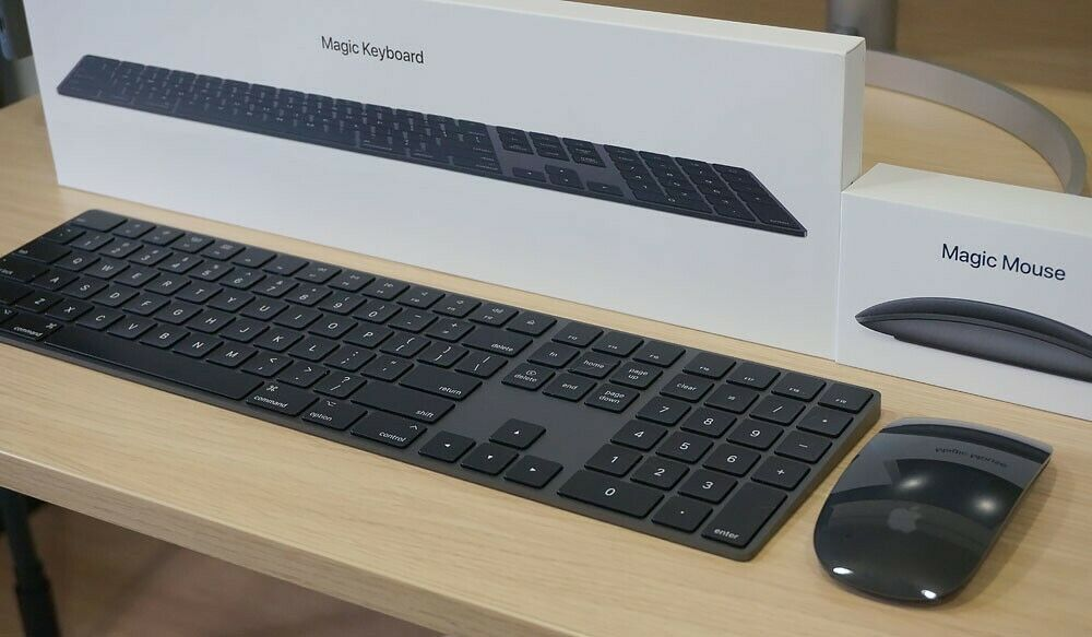 Apple Magic Keyboard 2 Space Grey And Magic Mouse 2 Space Grey, New. - $202.50