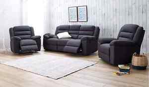 Quick Sale! 4 Recliner Leather Lounge suite Mawson Lakes Salisbury Area Preview