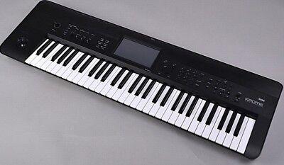 Korg KROME 61-Key Music Workstation Keyboard Synthesizer synth krome 61 USED
