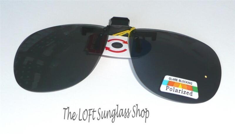 New Flip Up Hinged Sunglasses Polarized Clip On 5082b