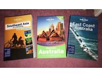 Australia & South East Asia Lonely Planet Guides!