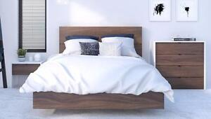 $269 - FULL SIZE PLATFORM BED