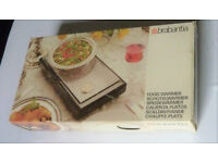 Brabantia Food Warmer Serving Stand 2 Burners White