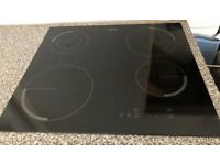 Zanussi Induction 4 ring cooker hob