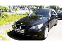 2008 BMW 520d Automatic Black