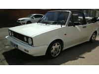 Mk1 golf cabby limited edition. Swap for a van / bike / cash