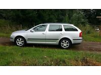 SKODA OCTAVIA 1.9 TDI ELEGANCE AUTOMATIC ESTATE 2008. TWO PREVIOUS OWNERS. DOCUMENTED HISTORY!!