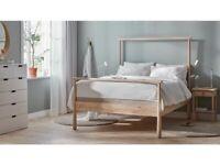 Birch (IKEA Gjöra) Standard Double Bed Frame for Sale