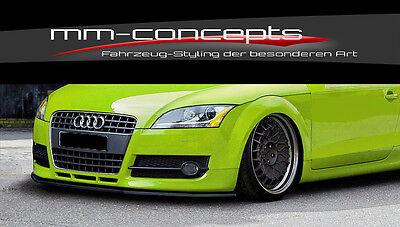Cup Spoilerlippe Audi TT Typ 8N Bj 98-06 Frontspoiler Spoilerschwert Spoiler