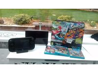 Nintendo Wii U 32GB Mario Kart 8 and Splatoon Premium Pack & 3 Games