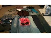 Large bundle of lady's size 8 clothes good makes some new