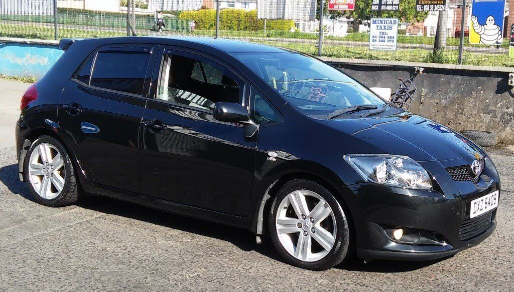 toyota auris sr180 black diesel in portadown. Black Bedroom Furniture Sets. Home Design Ideas