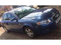 2005 Blue Audi A4 2.0
