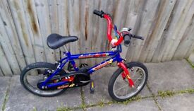 RALEIGH kids bicycle 14 inches tyre with Stabilizers Year 4-6 £12.00