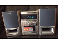 Aiwa CD Player & Tape, Good Condition
