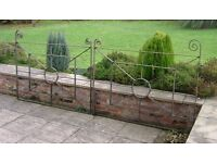 Pair Wrought Iron gates
