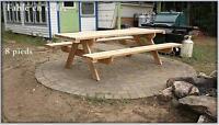 picnic Table pique nique commercial extérieur