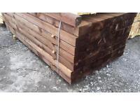 Brown Sleepers 100 x 200 x 2.4M @ £16.50