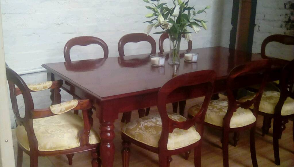 Remarkable Make An Offer Beautiful Colonial Style Mahogany Detailed 8 Seater Dining Table And Chairs In Kirkintilloch Glasgow Gumtree Download Free Architecture Designs Rallybritishbridgeorg