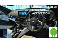 BMW G Series Android Mirroring Video in Motion
