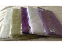 PLAIN DYED TOWEL BALE - 2 BATH TOWELS 70X120CM & 2 HAND TOWELS 48X80CM-AVAILABLE IN 5 COLOURS