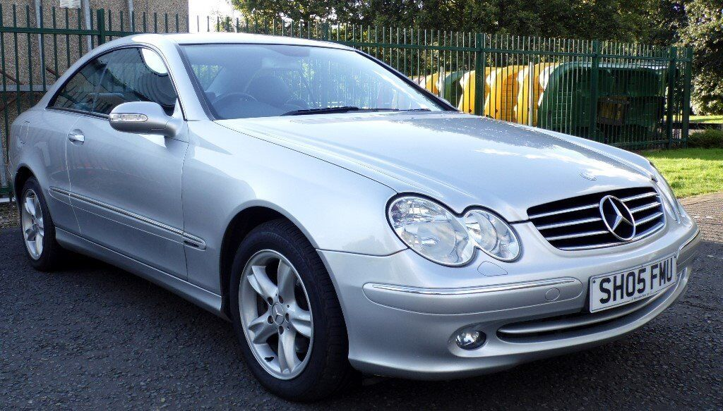 2005 mercedes benz clk 270 cdi auto avantgarde coupe low mileage in burnside glasgow. Black Bedroom Furniture Sets. Home Design Ideas